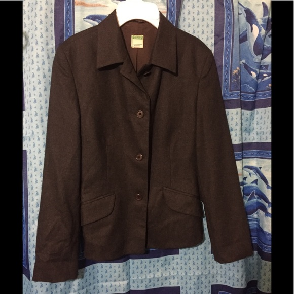 United Colors of Benetton Wool Cropped Jacket 40